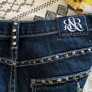 Rock & Republic Jeans - Rock & Republic studded jeans